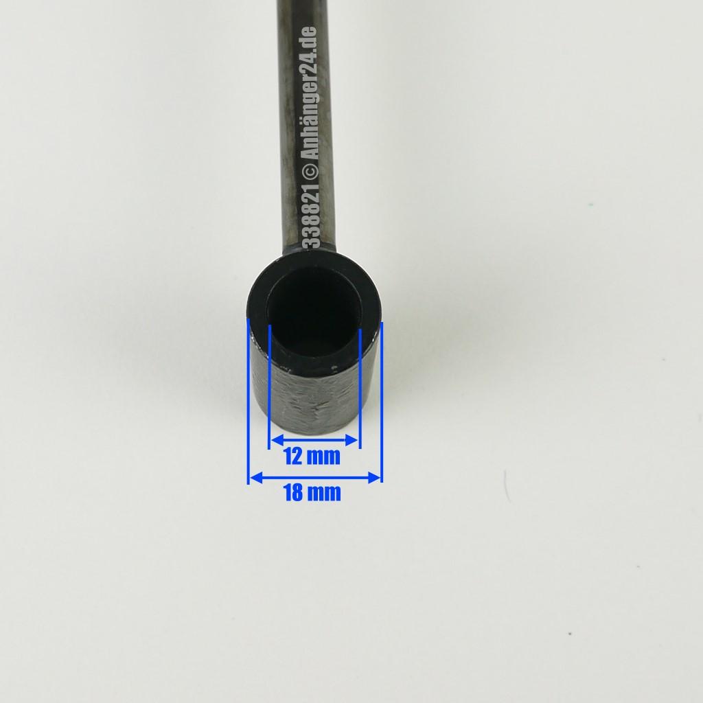Dämpfer BPW Auflaufdämpfer 02.3722.59.00 für Auflaufeinrichtung Typ ZAF 1,0-2