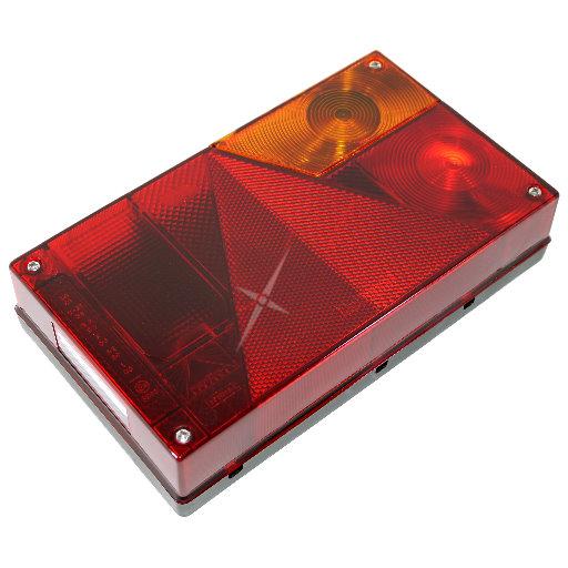 4,0m Kabelsatz Rücklichter Aspöck Multipoint 1 Anhänger Rückleuchten mit 7pol