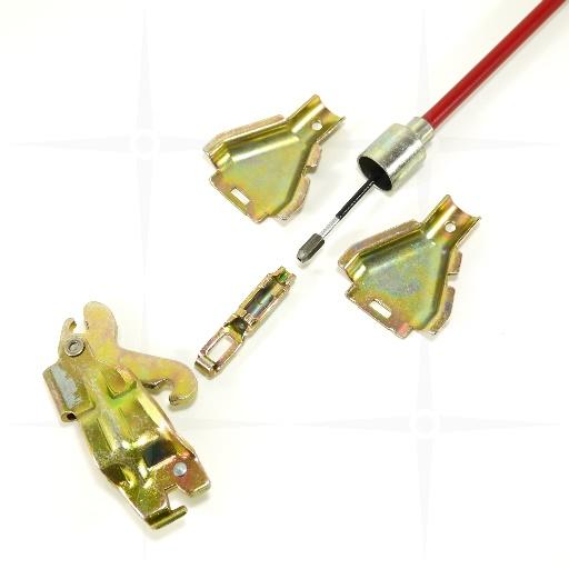 GL:1145mm f/ür AL-KO Radbremsen bis 2361 2x ALKO Bremsseil 20888004 HL:889mm